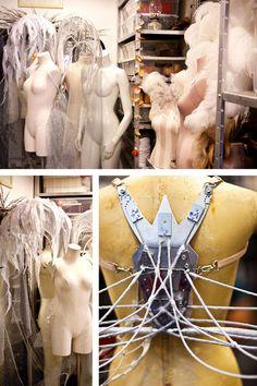 VS Angel Wing-Maker, Killer - How Victoria's Secret Angels Get Their Wings - ELLE