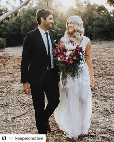 @keepercreative Bride and Groom photoshoot Wedding photography beautiful blooms bouquet white dress black tuxedo in love