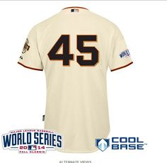 ... TIM LINCECUM COOL BASE Jersey San Francisco Giants 45 Dan Runzler  Authentic Cream Home 2010 ... e594ed92b