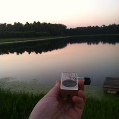 Lakeside relaxation – via Instagram user @ganjamoon