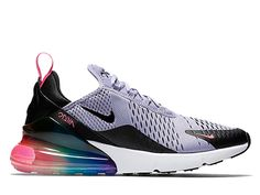 new product 94ebb 04d81 Coussin Dair Officiel Nike Air Max 270 Midnight Chaussures Sportswear Homme  Violet noir blanc AR0344-