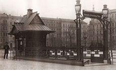 Le Wittenbergplatz U-Bahnhof est l'une des plus anciennes stations de U-Bahn à Berlin - Alfred Grenander - 1902