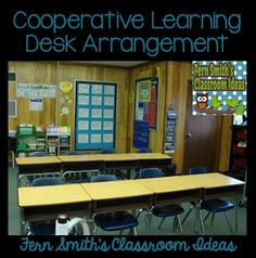 Tuesday Teacher Tips: Desk Arrangements for Cooperative Learning #B2S #BacktoSchool