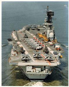 On HMS Ark Royal en route USA 1978
