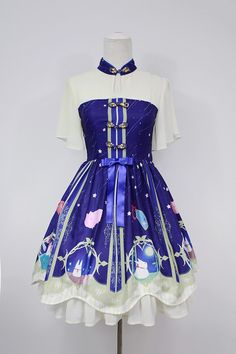 Neverland Lolita ~Chinese Valentine's Bunnies~ Qi Lolita OP Dress