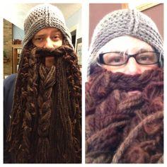 ":-D  Dwarf Beard inspired by ""The Hobbit"". $50.00, via Etsy."