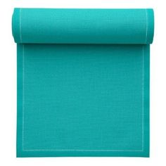 disposable and recyleable cotton -  MYdrap Placemats on a Roll 100-Percent Cotton 18.9-Inch by 12.6-Inch with 12 Placemats per Roll, Turquoise