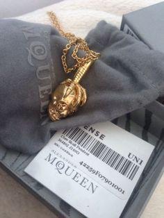 Alexander Mcqueen Necklace - http://designerjewelrygalleria.com/alexander-mcqueen/alexander-mcqueen-necklace/