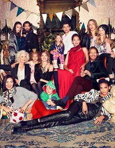H&M lança campanha de Natal. Rede de fast fashion traz looks sofisticados e casuais para toda família