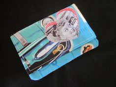 Wallet credit card holder gift card holder by SarahsFabCreations, $7.00