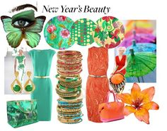 """""""New Year's Beauty"""" by gypsymanatee on Polyvore"""