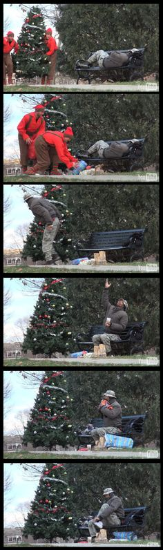 This is the best prank Ive ever seen. (aka beautiful gesture) Check out the website to see more