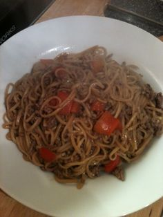 Vicki-Kitchen: Chili beef noodles (slimming world friendly)
