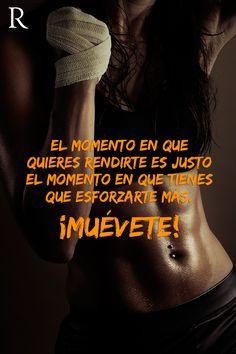 El momento en que quieres rendirte es justo el momento en que tienes que esforzarte más #Muevete #Fitspiration #motivation #fitness #deportes https://www.facebook.com/RipleyPeru/app_542517512494659
