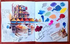 Maroc | Lâcher de crayon | MyriamPaslier.com