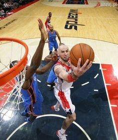 Marcin Gortat - Washington Wizards Washington Wizards, Basketball Court, Sports, Hs Sports, Sport