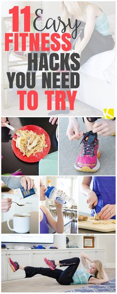 11 Easy Fitness Hacks You Need to Try
