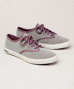 Love this Gunmetal Velvet Hermosa Plimsoll Sneaker - Women on #zulily! #zulilyfinds