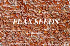 Flaxseed seems to be quite helpful not just for preventing prostate cancer, but also for men who already have prostate cancer, as well as breast cancer. Holistic Nutrition, Health And Nutrition, Health And Wellness, Health Tips, Healthy Mind, How To Stay Healthy, Healthy Foods, Healthy Smoothies, Cancer Cure
