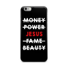 Jesus Is All I Need // iPhone case