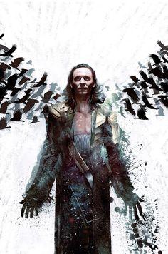 Loki by silverspike on Tumblr