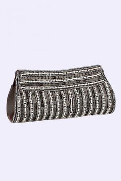 http://zohraa.com/accessories/bags-and-clutches/clutches/voylla-black-and-silver-clutch.html  Rs. 849 #bags #clutches #clutchesonline
