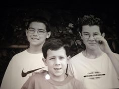 Jonas Brothers When they were kids