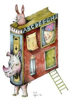 川貝母 Inca Pan - ABC Book - Children's Book Illustrations