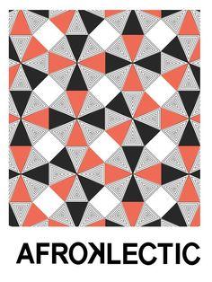 African geometic pattern.