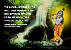 Chapter 3: Krishna is the source of all other incarnations