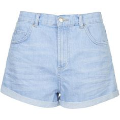 TopShop Moto Bright Blue Rosa Shorts