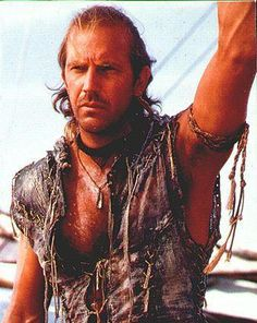 The Mariner from Waterworld.    One of those movies I can never watch enough times.  Don't get me wrong, it's a terrible movie with countless plot holes, but it's also immeasurably watchable.    I've probably watched it close to 200 times in my life (most of the times playing in the background as I did other things).