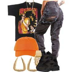 A fashion look from August 2016 featuring NIKE athletic shoes, American Apparel watches and ASOS necklaces. Browse and shop related looks.