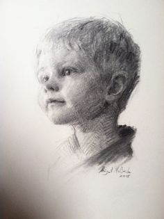Charcoal on paper by Abigail McBride