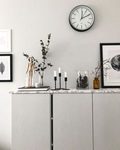 Ikea Hacks: 7 Ways to Customize your Ivar Cabinets One of the most popular and hacked IKEA pieces, this cabinet is so sleek and simple that you can make it up to your tase in a few steps + it's really cheap Living Room Shelves, Ikea Ivar, Grey Furniture, Stone Countertops, Cabinet, Furniture, Ikea Cabinets, Living Room Grey, Ikea