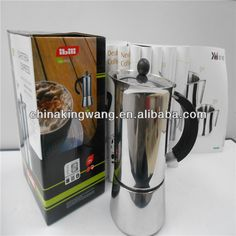 Espresso coffee maker has all the features of the traditional Mocha Express With its uniquely designed valve system.