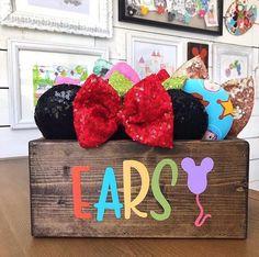 Disney Home, Mickey Ears, Wreaths, Shoulder Bag, Halloween, Bags, Decor, Handbags, Decoration