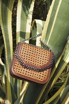 In celebration of the spirit of summer, our new Falabella Box bag is reimagined with an intricate wicker finish. In tan, khaki and black colourways, the ne Emo Fashion, Fashion Bags, Gothic Fashion, Postman Bag, Girls Messenger Bag, Spirit Of Summer, Fashion Still Life, Stella Mccartney Bag, Popular Bags
