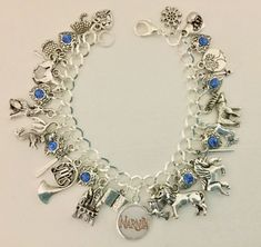 Narnia Charm Bracelet, The Lion, The Witch And The Wardrobe, C. S. Lewis   eBay