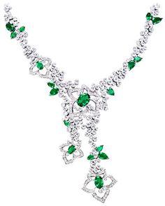 Collar oro blanco diamante - PIAGET Joyas y Alta Joyería G37LE100