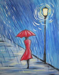 Rainy Stroll