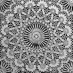 Деталь гипсовой панели в могиле Мулая Идриса, Фес