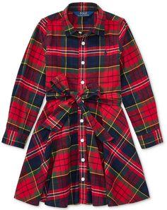 f1675603539 Polo Ralph Lauren Ralph Lauren Flannel Cotton Shirtdress