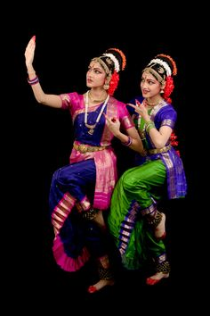 """They are twin Indian Kuchipudi Dancers. They are graduating in this summer.[gallery link=""""file"""" columns=""""1″ size=""""125″]"""