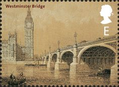 Royal Mail Special Stamps | Bridges of London Westminster Bridge. 1864