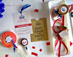 MUNSH: London Party - Fiesta de Quince años  Link: http://munshbylaura.blogspot.com.co/2016/01/london-party-fiesta-de-quince-anos.html