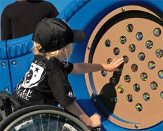 October is Sensory Awareness Month! Celebrate w/ #sensory activities on the #playground. Spinners, climbers, #swings: all engage your #senses!