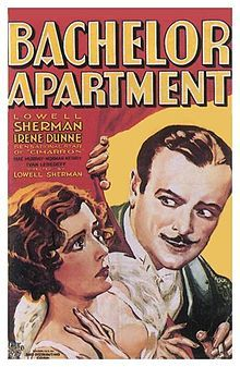 Bachelor Apartment is a 1931 romance film directed by and starring Lowell Sherman as a womanizing playboy who falls in love with Irene Dunne's character. Mae Murray's penultimate film. Cast: Lowell Sherman as Wayne Carter Irene Dunne as Helene Andrews Mae Murray as Mrs. Agatha Carraway Ivan Lebedeff as Henri De Maneau Norman Kerry as Lee Graham Noel Francis as Janet Claudia Dell as Lita Andrews Purnell Pratt as Henry Carraway Kitty Kelly as Miss Clark Charles Coleman as Rollins
