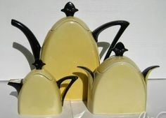 TLB Limoges Art deco tea set