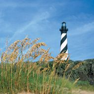 Hatteras Lighthouse on the Outer Banks.